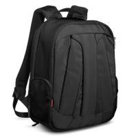 Manfrotto - Stile Veloce V Noir Sac à dos Moyen pour Reflex avec 70-200 mm + 2-3 Objectifs + Trépied + Ordinateur portable