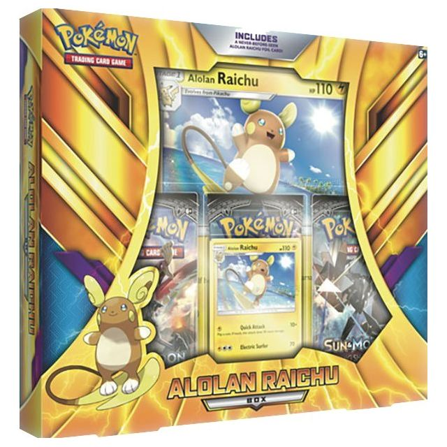 Pokemon Coffret Raichu D Alola Asmodee Version Francaise Carte Pokemon Pas Cher Achat Vente Carte A Collectionner Rueducommerce