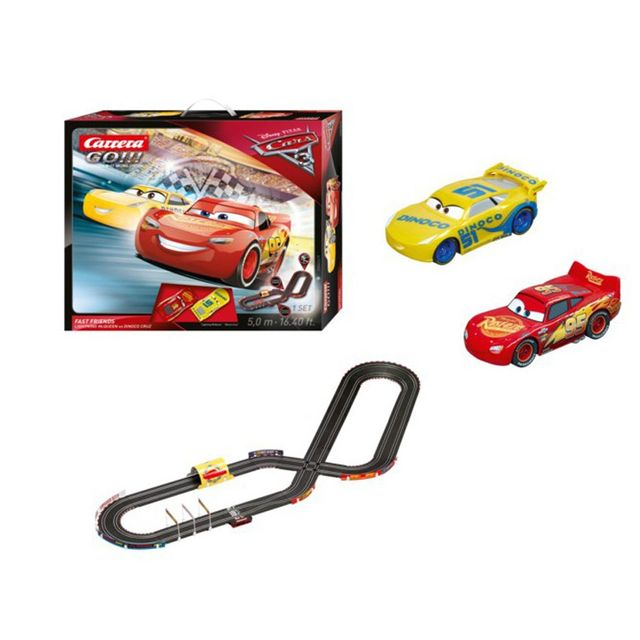 Carrera Circuit de voiture Fast Friends : Cars 3