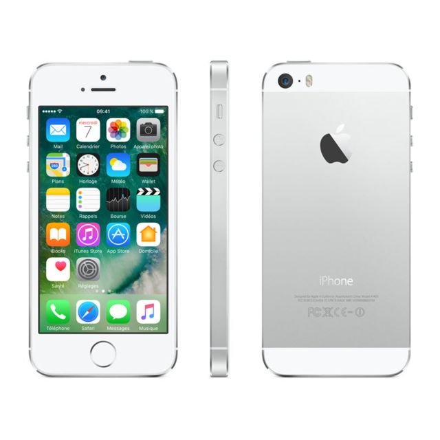 APPLE - iPhone 5S - 16 Go - ME433F/A - Argent