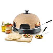 Rocambolesk - Superbe Four à mini pizza Pizzarette pour 6 personnes Emerio Po-110450 neuf