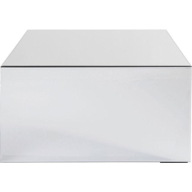 Karedesign Table basse Luxury 70x70cm argent Kare Design