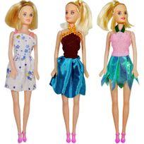 Promobo - Jouet Fille Poupée Mannequin Articulée Mode et Beauté Vêtements assortis