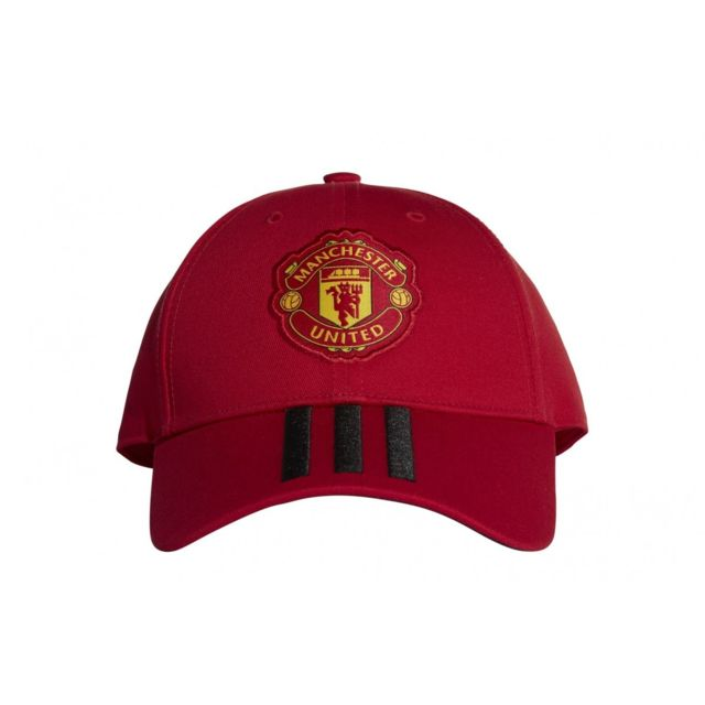 16e4fe26b7a24 Adidas performance - Casquette Manchester United 3-Stripes - Cy5584 - pas  cher Achat   Vente Casquettes