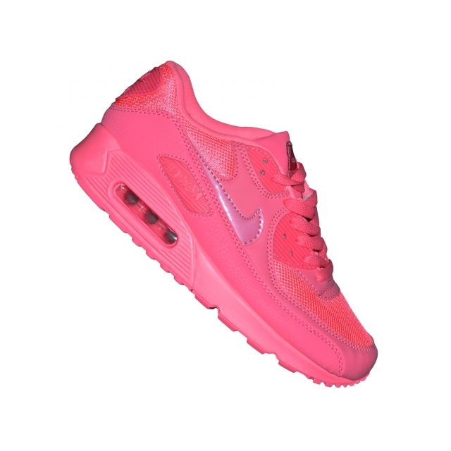 Nike - Basket - Femme - Air Max 90 56 - Cherry Rose Fluo ...