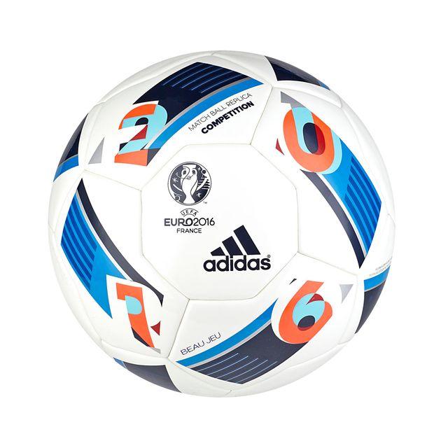 Ballon Adidas Euro 2016 Compétition T.5 Blanc