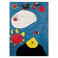 Editions Ricordi - Puzzle 1000 pièces : Retrait Iv, Joan Miro