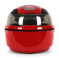 KLARSTEIN - VitAir Fryer Friteuse sans huile à air chaud 1400W timer -rouge
