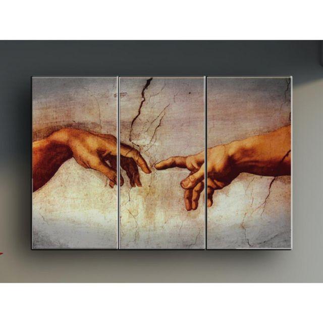 Deco Soon Tableau Peinture Creation D Adam Pas Cher Achat
