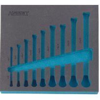 Hazet - Garniture en mousse souple bimatière - 163-101L