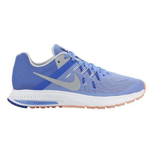 Chaussures de Running pour Adultes Nike Zoom Winflo 2 Bleu Gris