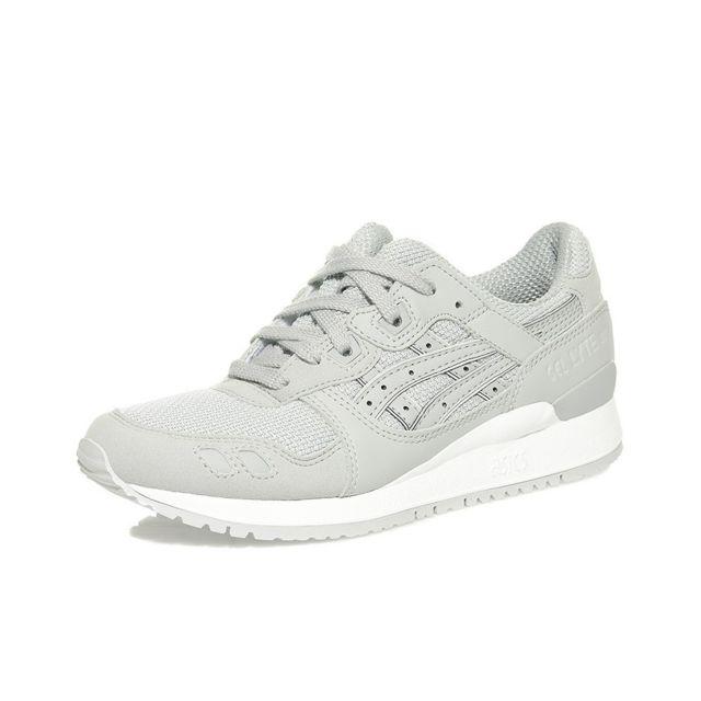 Nouveaux produits 9d4ae 26090 Asics - Chaussures Gel Lyte Iii Gris Femme Homme Garçon ...