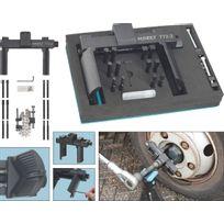 Hazet - Jeu de clés universelles pour écrou de moyeu de roue et écrou à encoches - Carré creux 20 mm 3/4 pouce Nombre d'outils: 16 - 772-2/16
