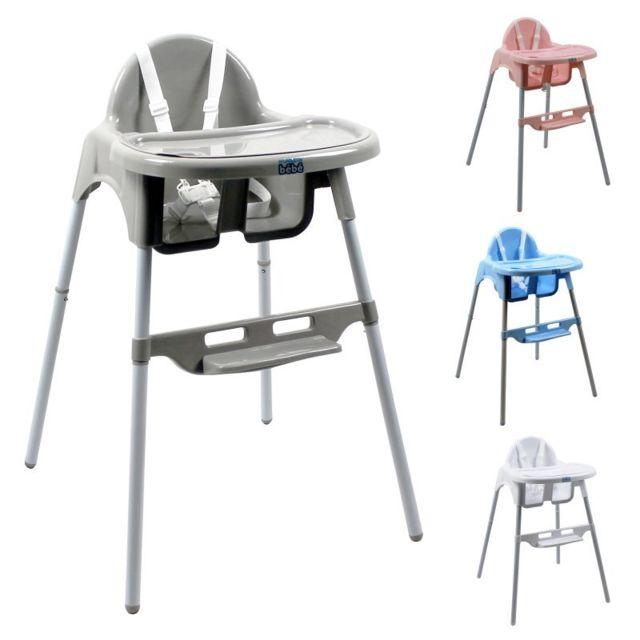 monsieur bebe chaise haute b b r glable hauteur et tablette pas cher achat vente chaises. Black Bedroom Furniture Sets. Home Design Ideas