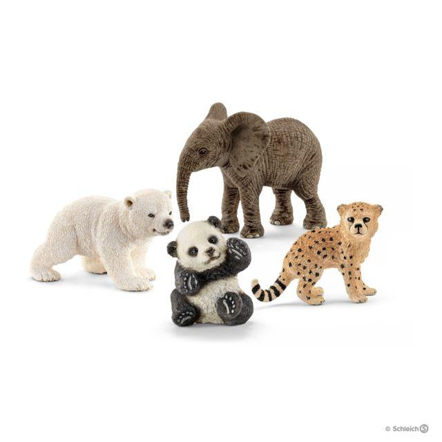 SCHLEICH - Bébés animaux sauvages - 14794 - pas cher Achat   Vente ... b4fdfdd8217
