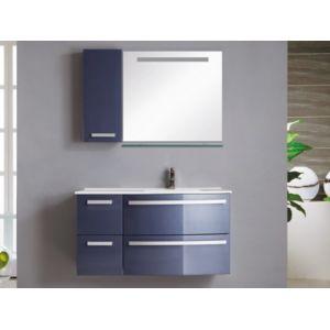 marque generique ensemble de salle de bain nereide meubles vasque miroir bleu pas. Black Bedroom Furniture Sets. Home Design Ideas