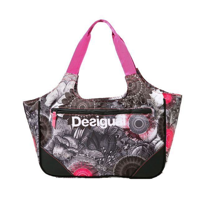 Desigual Sackful Blackville Multicolore Sacs De Sport