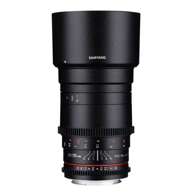 SAMYANG 135mm T2.2 ED UMC - monture Nikon