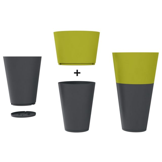 Pot De Fleur Design Tokyo 80 Diam 75 H 57