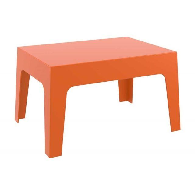 decoshop26 table basse de jardin en plastique orange 50x70x43 cm mdj10171 1cm x 1cm x 1cm. Black Bedroom Furniture Sets. Home Design Ideas