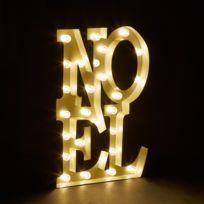 Alinéa - Lumière de Noël Décoration Noël lumineuse à Led - H36cm