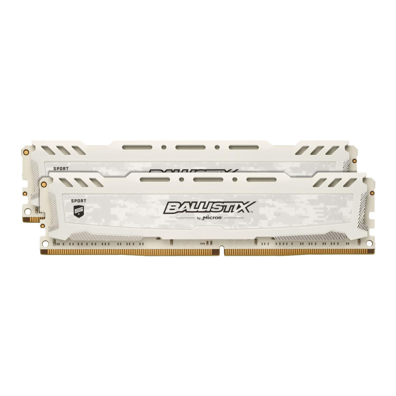 SPORT LT White 16 Go 2x8 Go, 2666 Mhz DDR4 CL16