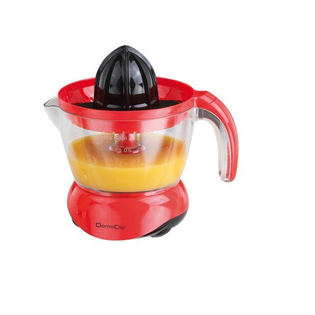 Domoclip Presse-agrumes électrique rouge noir Dod131RN