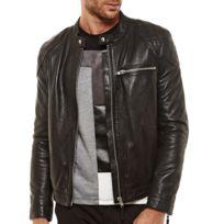 ARTURO - Blouson cuir Couleur - noir, Taille Homme - XL