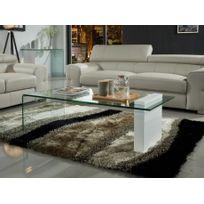 3f8f0be9377c74 MARQUE GENERIQUE - Table basse CALISTO avec coffre - MDF - Noir et ...