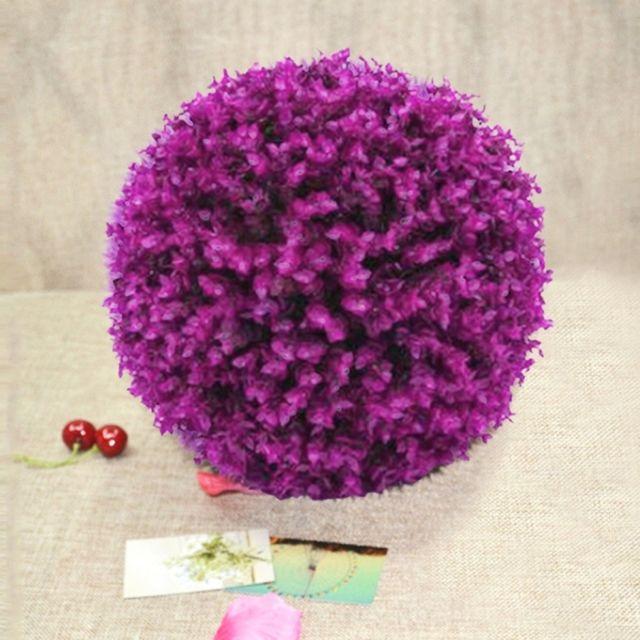 Wewoo Fleurs Artificielles Artificielle Violet Eucalyptus Plante