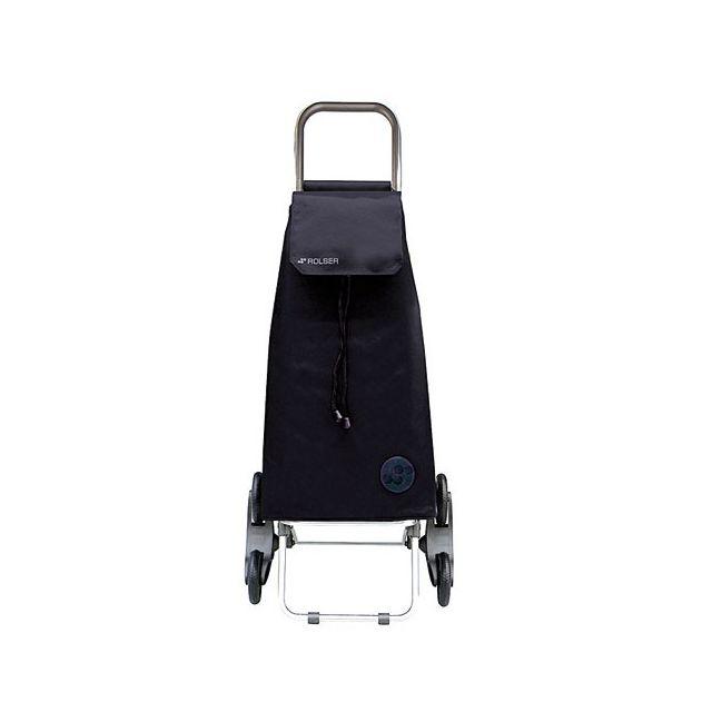 rolser poussette de march mountain 6 roues noir. Black Bedroom Furniture Sets. Home Design Ideas