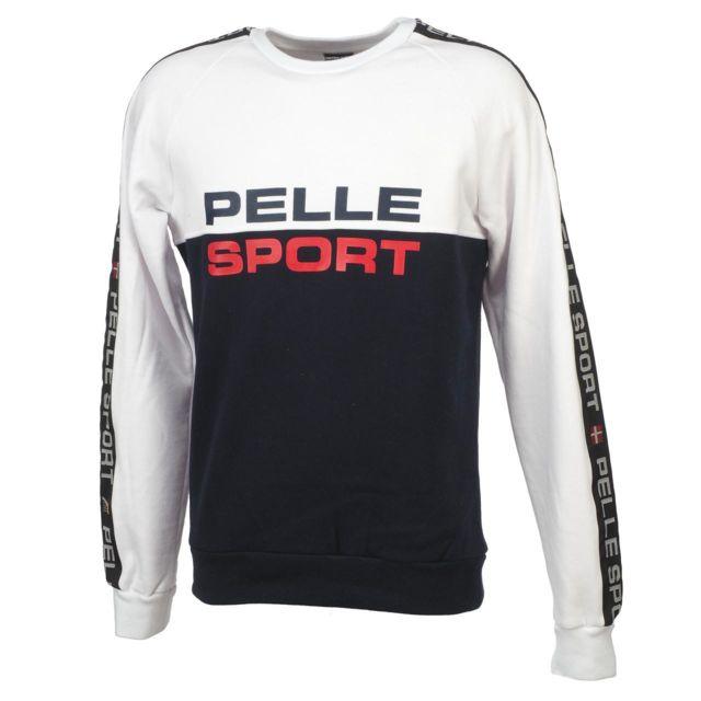 Pelle Pelle Sweat Pellepelle Sweat sport blanc navy Blanc 77697