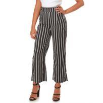 acc4a9e2f8e Pantalon large taille haute - catalogue 2019 -  RueDuCommerce ...