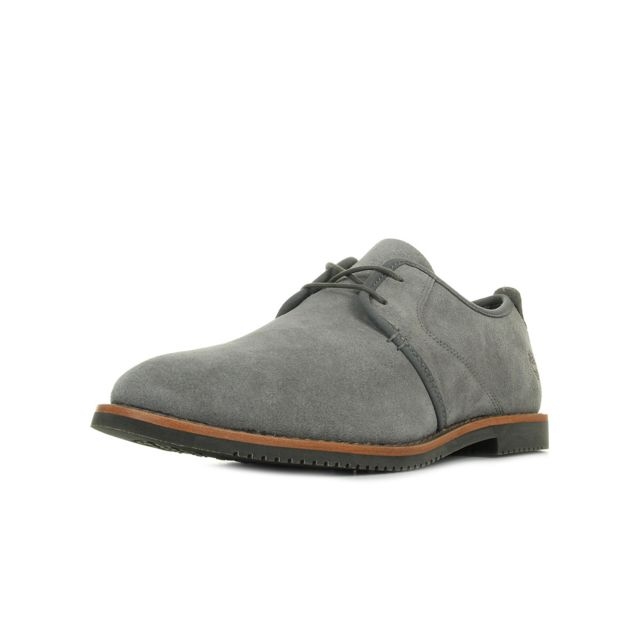 Timberland Brooklyn Park Leather Grey pas cher Achat
