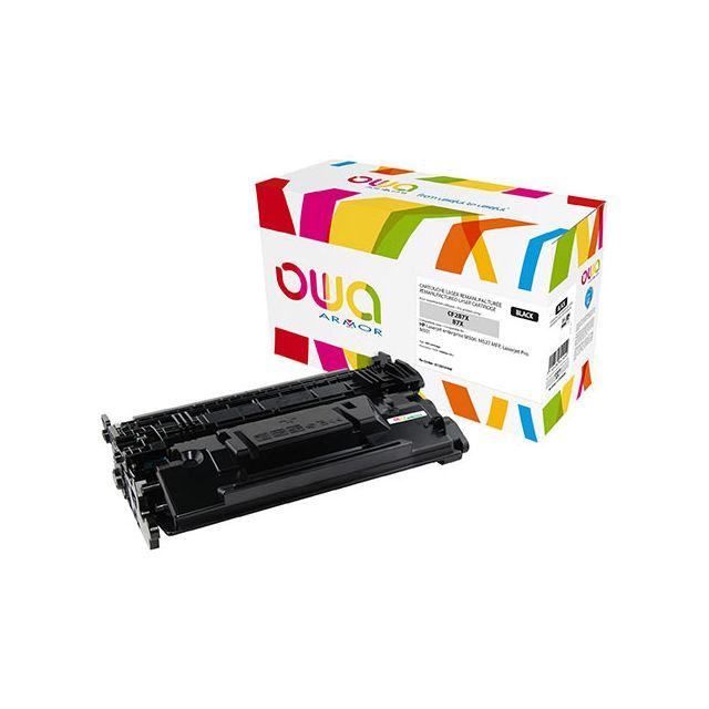 Toner Armor Owa compatible Hp 87X-CF287X noir pour imprimante laser