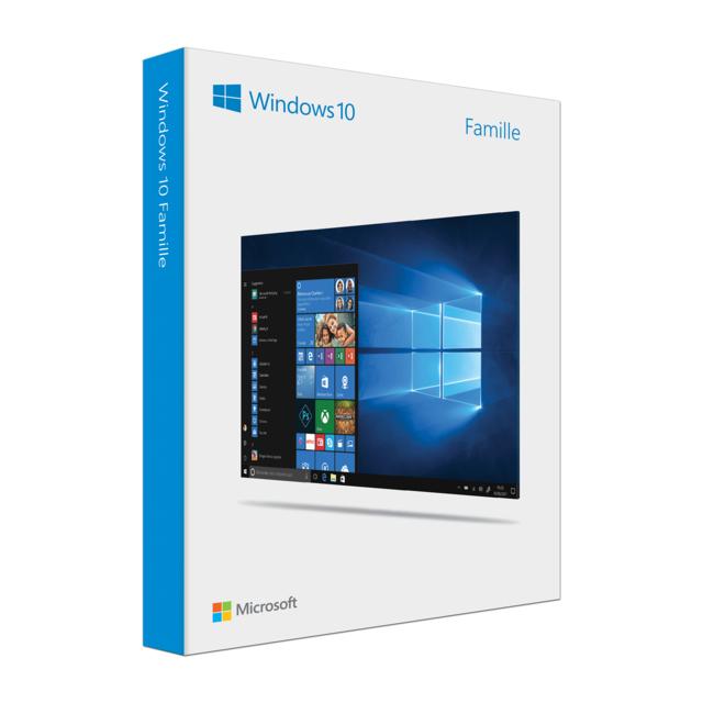 MICROSOFT Windows 10 Édition Familiale USB - français