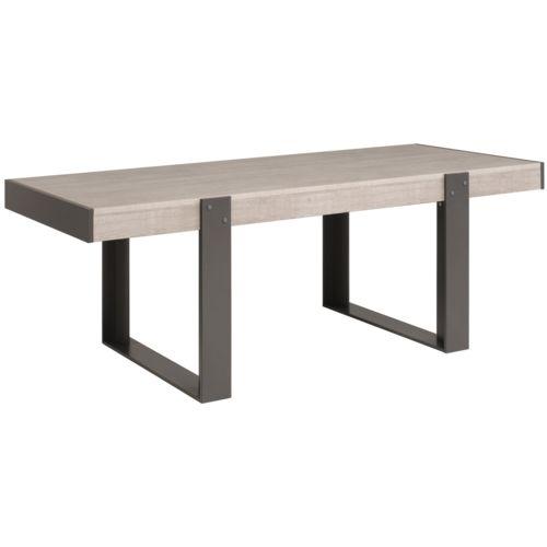 Last meubles ensemble s jour bali table 39 industrielle Table sejour design