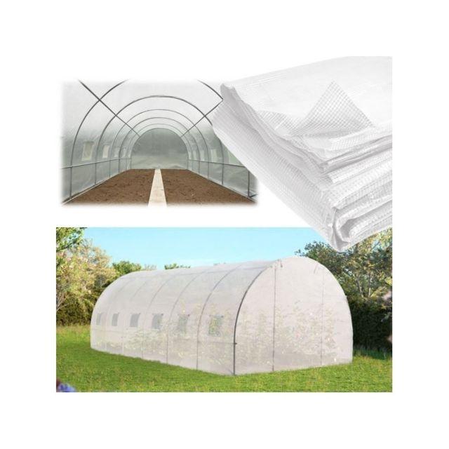 idmarket b che de rechange 140gr m pour serre tunnel 18 m transparente pas cher achat. Black Bedroom Furniture Sets. Home Design Ideas