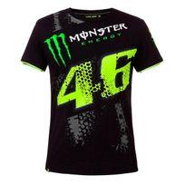 Vr 46 - T-shirt Replica Dtbc Monster Black Vr46