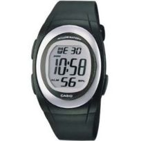 Casio - Montre Unisexe Fe10 -extra Plate- Multifonction - Quartz digitale - Alarme Chrono