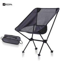 En Chaise Noir D'aluminum FoncéFilet Camping Gris Alliage Pliant Portable Pour Extérieur Pêche Yf6gv7by