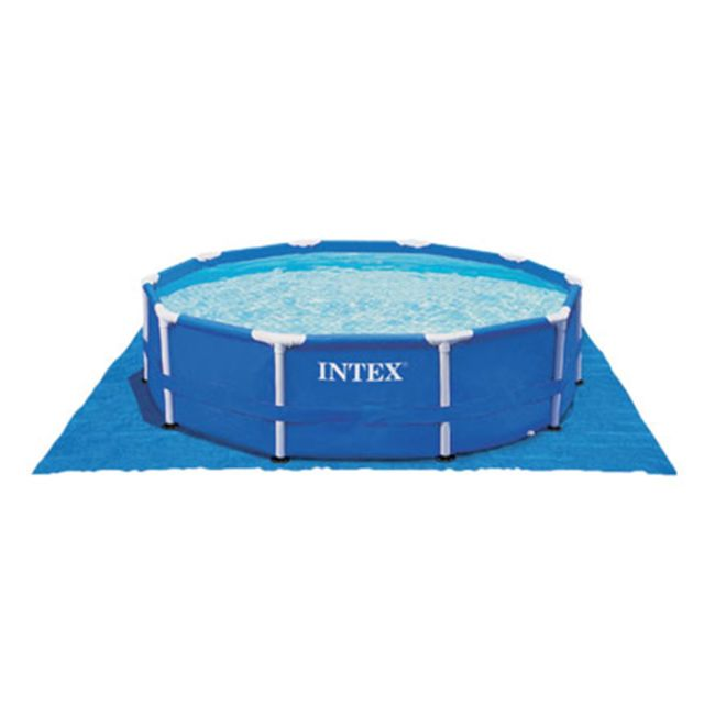 Intex tapis de sol pour piscine ronde 5 49 m pas cher achat vente accessoires piscines - Tapis de sol piscine intex ...