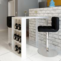 Table De Bar Avec Rangement table bar avec rangement - achat table bar avec rangement pas cher