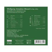 Accent - Mozart : Requiem in D Minor Kv 626