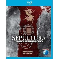 Eagle vision - Sepultura | Les Tambours Du Bronx - Metal veins - Alive at Rock in Rio Blu-ray
