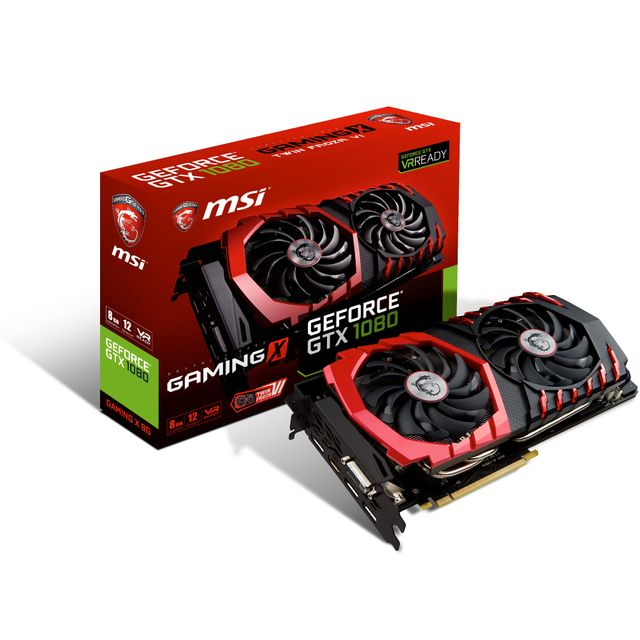 MSI GeForce GTX 1080 GAMING X 8Go DDR5X