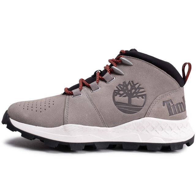 Timberland Brooklyn Grise pas cher Achat Vente Baskets