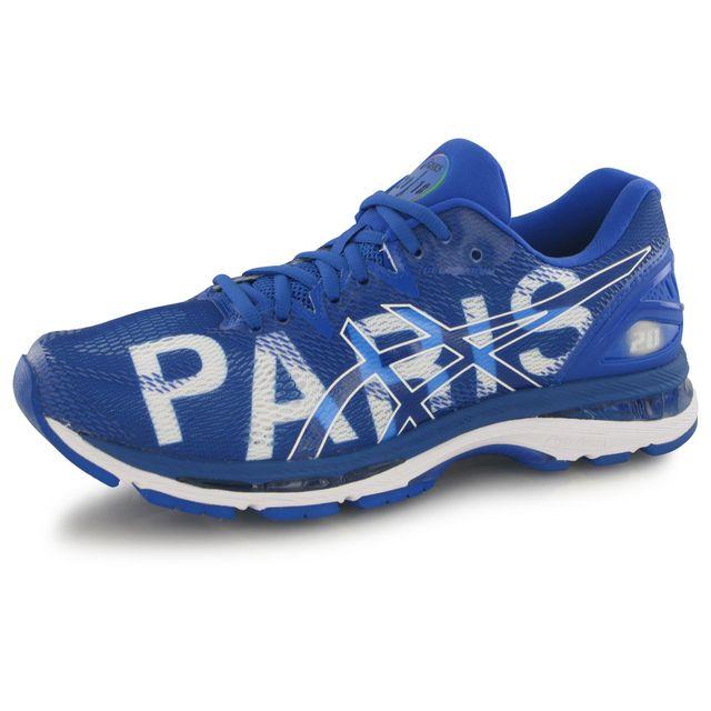 Asics Gel Nimbus 20 Paris bleu, chaussures de running