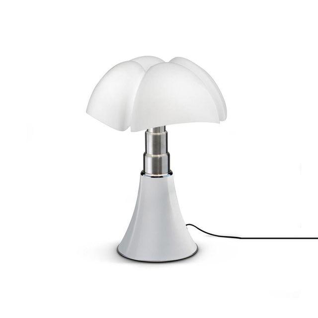 Martinelli Luce Mini Pipistrello - Lampe Blanc Dimmer Touch Led H35cm - Lampe à poser designé par Gae Aulenti