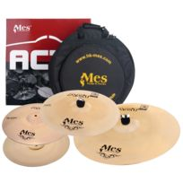 "Mes - Set de cymbales Série Act, Hh 14"", Crash 16"", Ride 20"